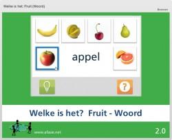 Welke is het: Fruit (Woord)